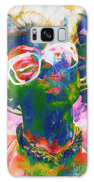 Abstract People Galaxy Case - Paint Splash Pinup Art by Jorgo Photography - Wall Art Gallery