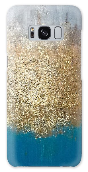 Paint The Sky Gold Galaxy Case