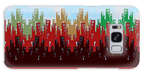 Paint The Town Galaxy Case by Digital Art Cafe