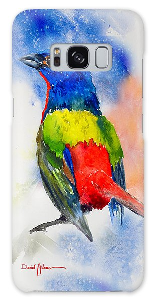 Da189 Painted Bunting Daniel Adams Galaxy Case