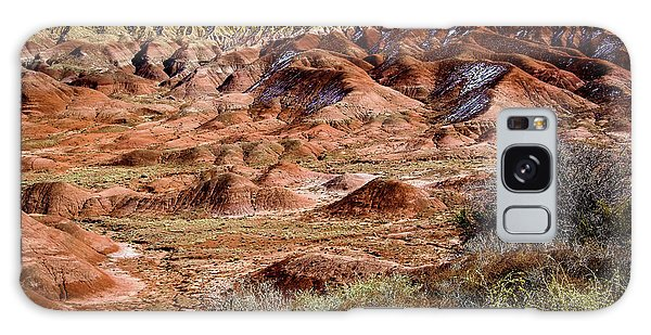 Painted Desert In Winter Galaxy Case