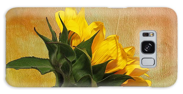 Painted Golden Beauty Galaxy Case