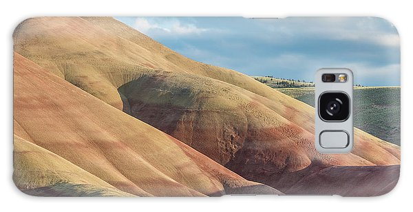 Painted Hill And Clouds Galaxy Case by Greg Nyquist