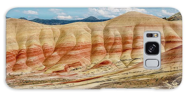 Painted Hills And Afternoon Sky Galaxy Case by Greg Nyquist