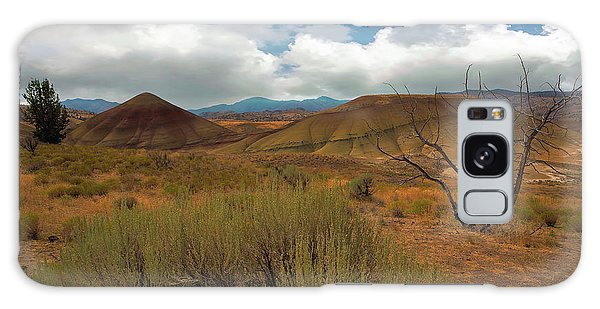 Painted Hills Landscape In Central Oregon Galaxy Case