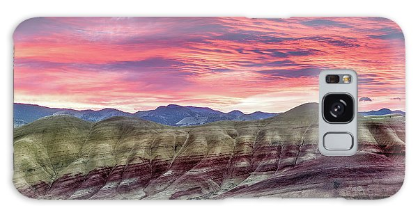 Painted Hills Sunrise Galaxy Case