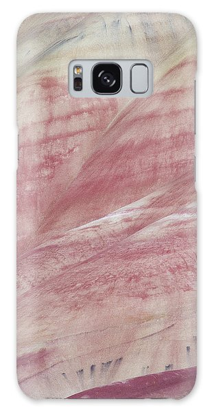 Painted Hills Textures 1 Galaxy Case by Leland D Howard