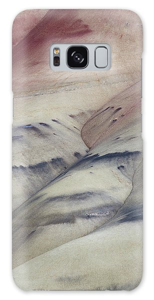 Painted Hills Textures 2 Galaxy Case by Leland D Howard