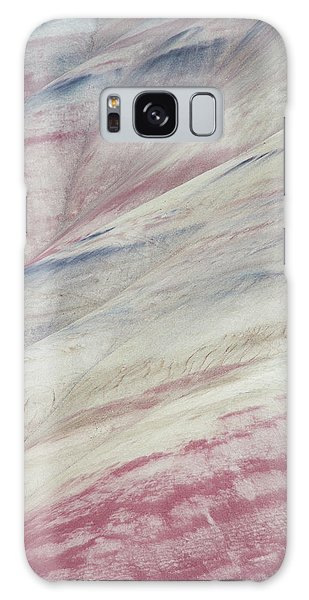 Painted Hills Textures 3 Galaxy Case by Leland D Howard