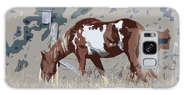 Painted Horse Galaxy Case by Steve McKinzie