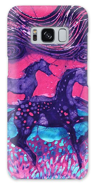 Painted Horses Below The Wind Galaxy Case