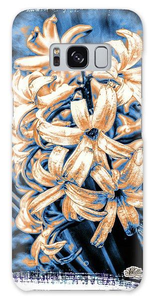 Painted Hyacinth Galaxy Case