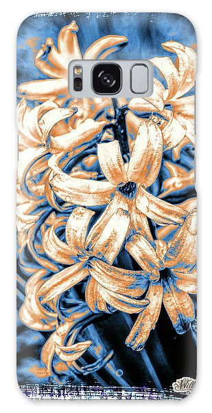 Painted Hyacinth Galaxy Case