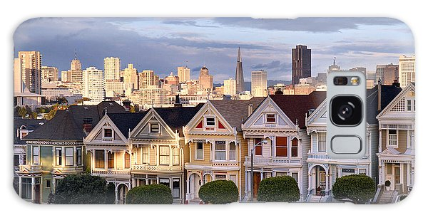 Painted Ladies In Sf California Galaxy Case