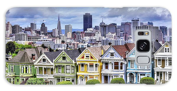 Painted Ladies Of San Francisco  Galaxy Case