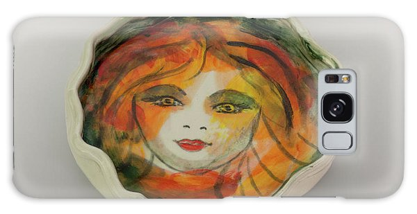 Painted Lady-1 Galaxy Case