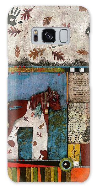 Painted Mare, Oak, War Pony  Galaxy Case