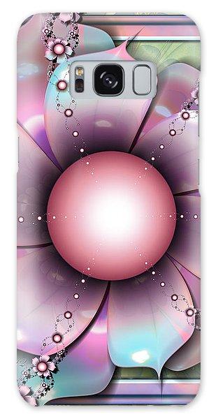 Painted Petals Galaxy Case