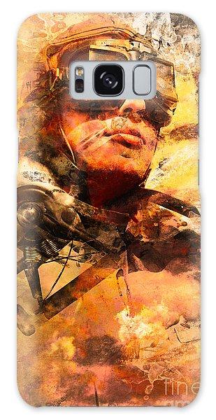 Pilot Galaxy Case - Painted Pilots At War by Jorgo Photography - Wall Art Gallery
