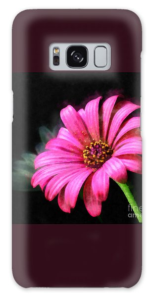 Painted Pink Galaxy Case by Elizabeth Coats