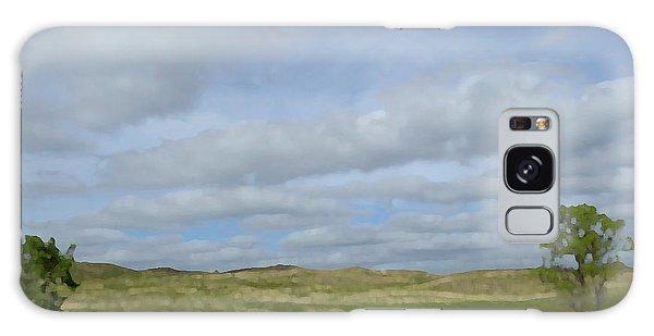 Painted Plains Galaxy Case by JoAnn Lense