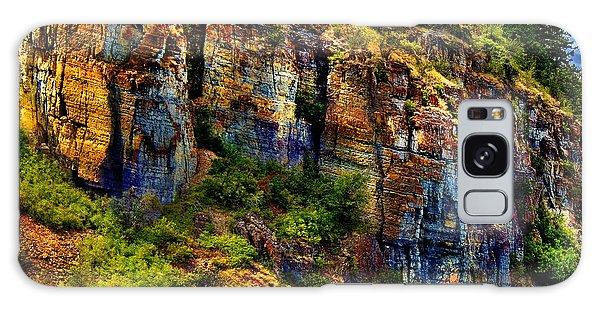 Painted Rock - Flathead Lake Galaxy Case