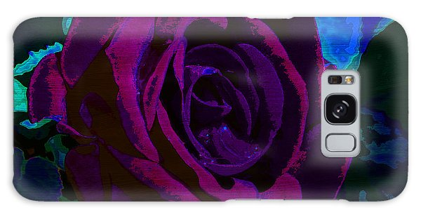 Painted Rose Galaxy Case
