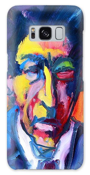 Painter Or Poet? Galaxy Case by Les Leffingwell