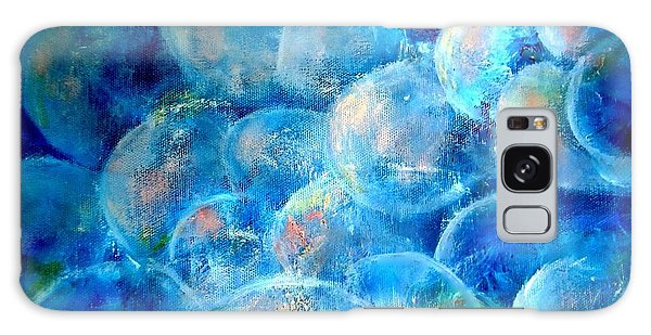 Painterly Bubbles Galaxy Case