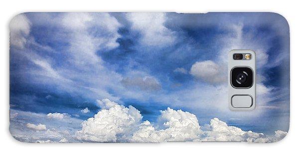 Painterly Sky Over Oklahoma Galaxy Case