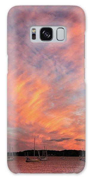 Painterly Sunset Galaxy Case