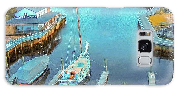 Painterly Tuckerton Seaport Galaxy Case
