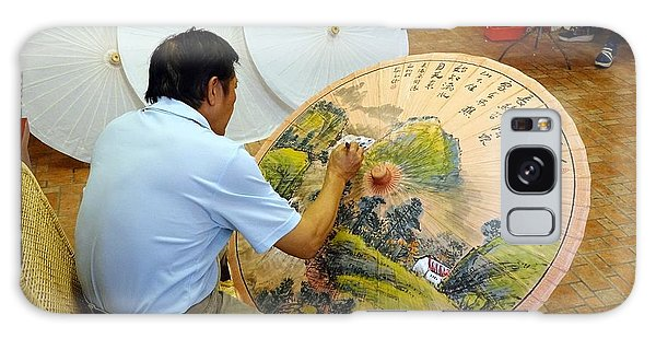Painting Chinese Oil-paper Umbrellas Galaxy Case