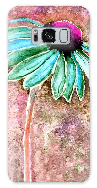 Galaxy Case featuring the painting Painting Cone Flower 8615d by Mas Art Studio