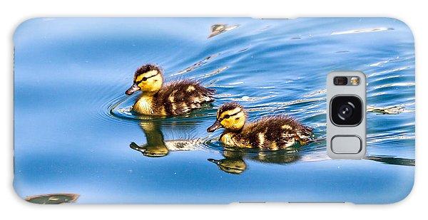 Duckling Duo Galaxy Case