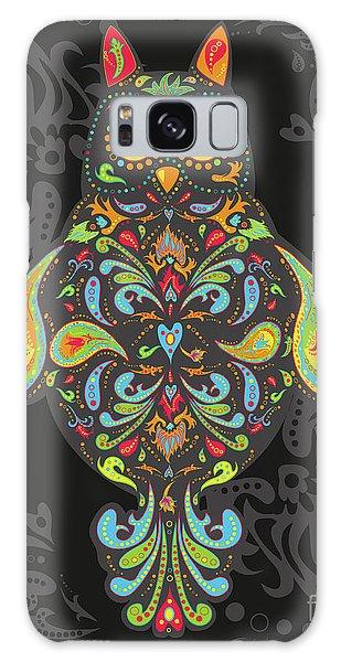 Paisley Owl Galaxy Case