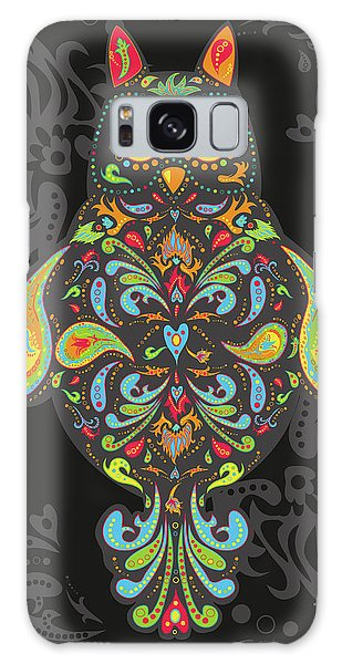Paisley Owl Galaxy Case