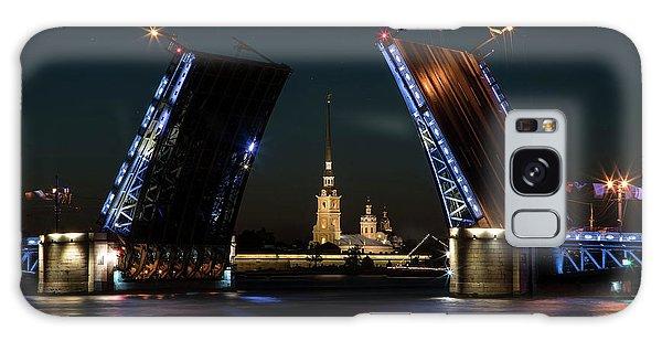 Palace Bridge At Night Galaxy Case