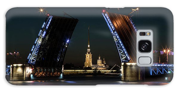 Palace Bridge At Night Galaxy Case