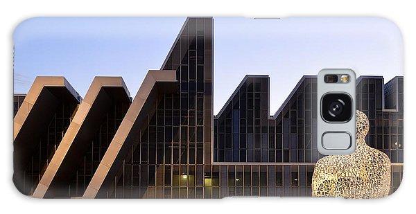 Palacio De Congresos Zaragoza Spain Galaxy Case by Marek Stepan