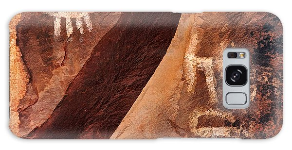 Palatki Pictographs9 Pnt Galaxy Case