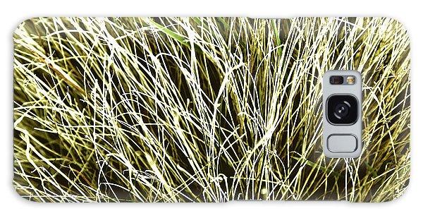 Pale Grasses Galaxy Case