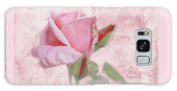 Pale Pink Rose Galaxy Case