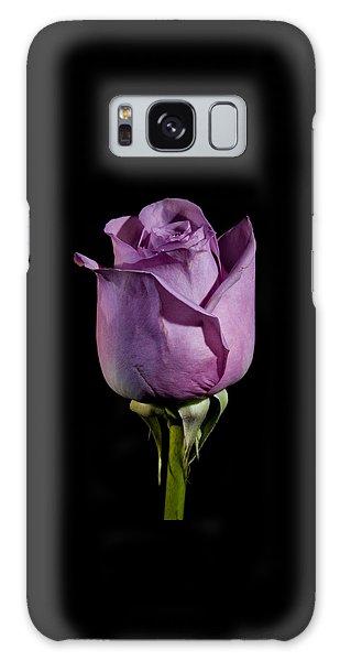Pale Purple Rose Galaxy Case
