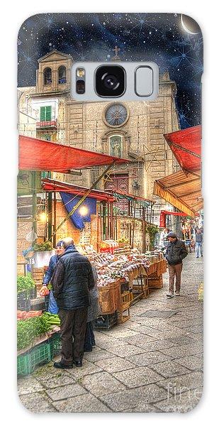 Palermo Market Place Galaxy Case