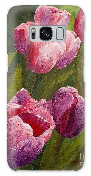 Palette Tulips Galaxy Case