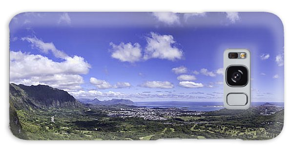Pali Lookout Panorama Galaxy Case