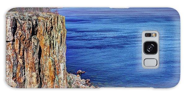 Palisade Head Tettegouche State Park North Shore Lake Superior Mn Galaxy Case