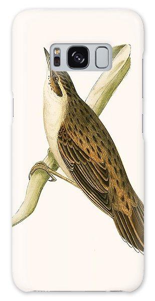 Song Bird Galaxy Case - Pallas's Locustelle by English School
