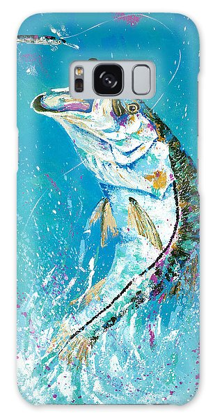 Pallet Knife Jumping Snook Galaxy Case